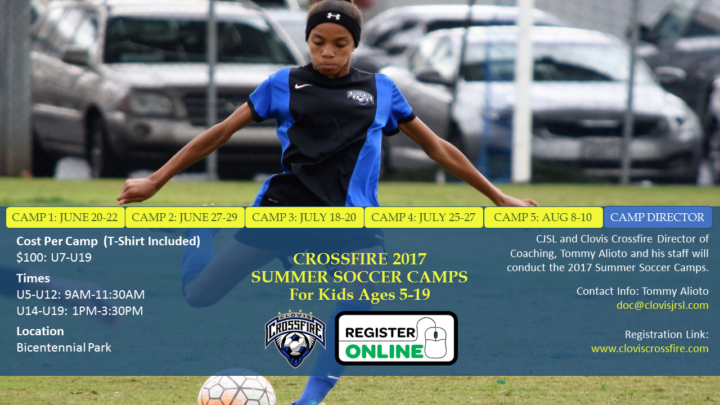 2017 Crossfire Summer Camp Series