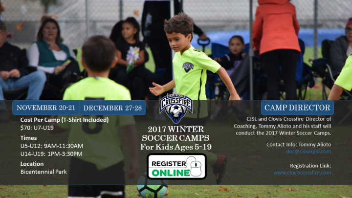 2017 Crossfire Winter Camps